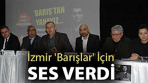 İzmir 'Barışlar' için ses verdi