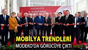 MOBİLYA TRENDLERİ MODEKO'DA GÖRÜCÜYE ÇIKTI
