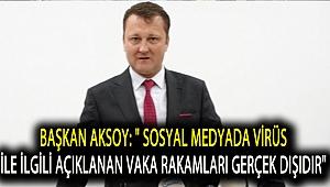 Başkan Aksoy: