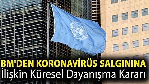 BM'den koronavirüs salgınına ilişkin küresel dayanışma kararı