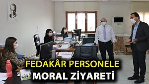 Fedakâr personele moral ziyareti