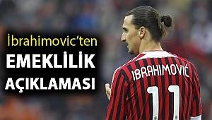 İbrahimovic'ten emeklilik açıklaması