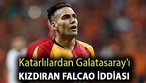 Katarlılardan Galatasaray'ı kızdıran Falcao iddiası