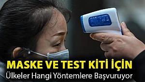 Koronavirüs: Ajanlardan gizli operasyonlara maske ve test kiti için ülkeler hangi yöntemlere başvuruyor?