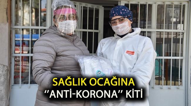 Sağlık Ocağına ''Anti-Korona'' kiti