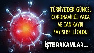 Türkiye'deki güncel koronavirüs vaka ve can kaybı sayısı açıklandı
