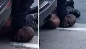 ABD'de polis vahşeti: Şüpheliyi boğarak öldürdü