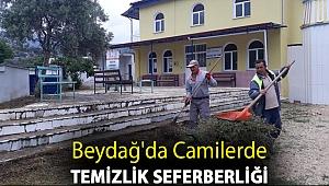Beydağ'da Camilerde Temizlik Seferberliği