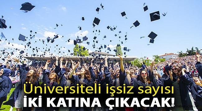 CHP'li Karabat korkutan tabloyu anlattı: Üniversiteli işsiz sayısı iki katına çıkacak!