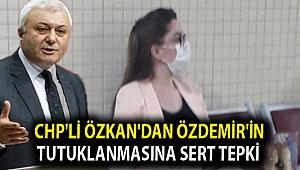 CHP'li Özkan'dan Özdemir'in tutuklanmasına sert tepki
