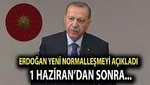 Erdoğan Yeni Normalleşme Kararlarını Açıkladı