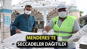 Menderes'te Seccadeler Dağıtıldı
