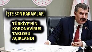 Sağlık Bakanı Koca Koronavirüsün 28 Mayıs 2020 tablosunu açıkladı