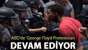 ABD'de 'George Floyd Protestoları': 5 polis memuru vuruldu, Beyaz Saray'ın etrafına yeni teller çekildi