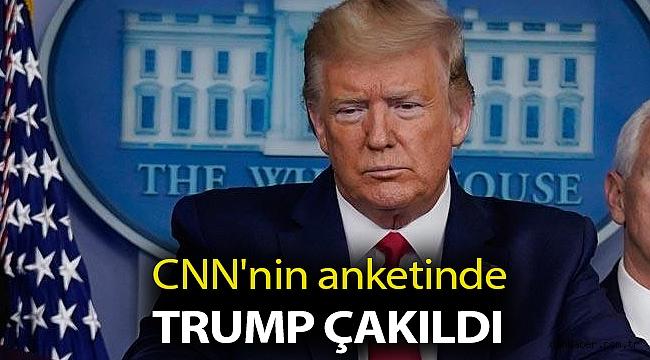 CNN'nin anketinde Trump çakıldı