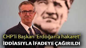 Gaziemir Belediye Başkanı Halil Arda, 'Erdoğan'a hakaret' iddiasıyla ifadeye çağırıldı