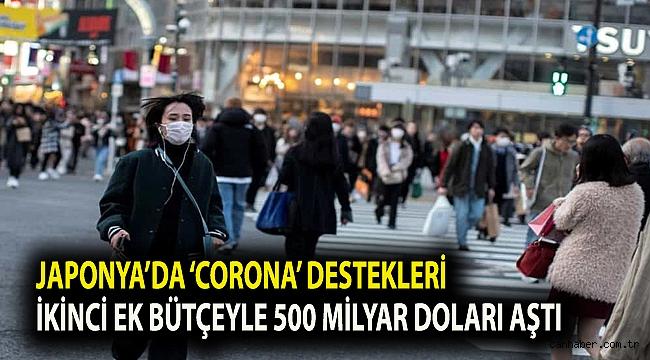 Japonya'da 'corona' destekleri ikinci ek bütçeyle 500 milyar doları aştı