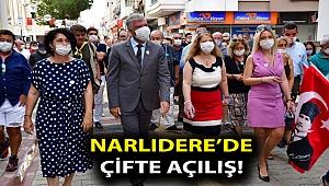 Narlıdere'de çifte açılış!