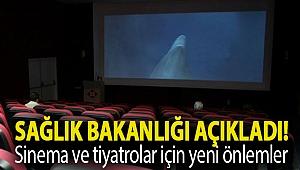 Sağlık Bakanlığı açıkladı! Sinema ve tiyatrolar için yeni önlemler