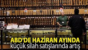 ABD'de haziran ayında küçük silah satışlarında artış