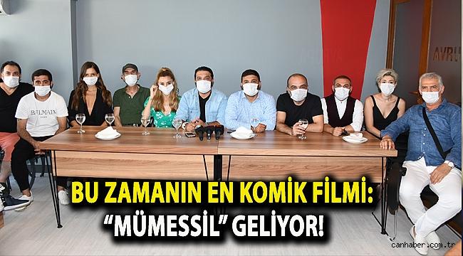"""BU ZAMANIN EN KOMİK FİLMİ: """"MÜMESSİL"""" GELİYOR!"""