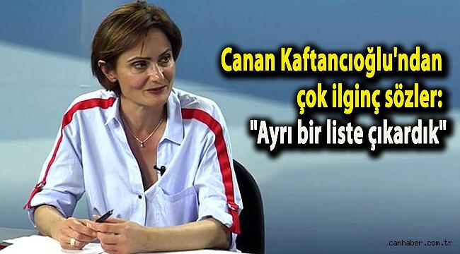 Canan Kaftancıoğlu'ndan çok ilginç sözler: