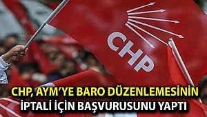 CHP, AYM'ye başvurusunu yaptı