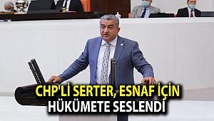 CHP'li Serter, esnaf için hükümete seslendi