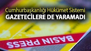 Cumhurbaşkanlığı Hükümet Sistemi gazetecilere de yaramadı: Haftada 43 basın emekçisi işsiz kaldı!