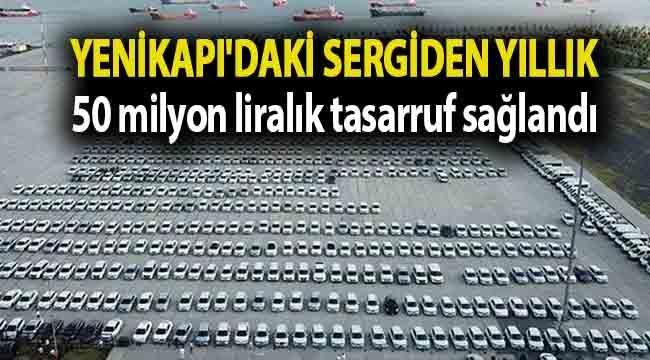 İBB Meclis Üyesi: Yenikapı'daki sergiden yıllık 50 milyon liralık tasarruf sağlandı