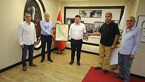 İzmir Bosna Sancak Derneğinden Başkan Kılıç'a ziyaret