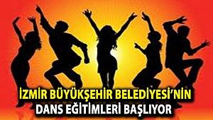 İzmir Büyükşehir Belediyesi'nin dans eğitimleri başlıyor