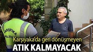Karşıyaka'da geri dönüşmeyen atık kalmayacak