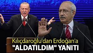 Kılıçdaroğlu'dan Erdoğan'a