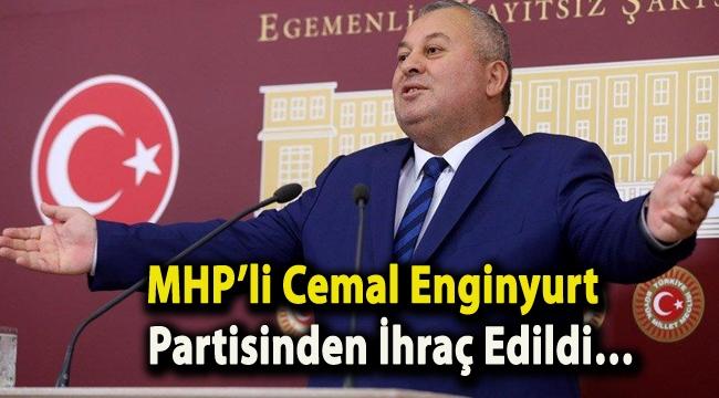 MHP'li Cemal Enginyurt partisinden ihraç edildi…