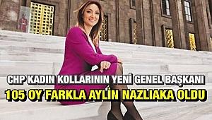 CHP Kadın Kollarının yeni Genel Başkanı 105 oy farkla Aylin Nazlıaka oldu