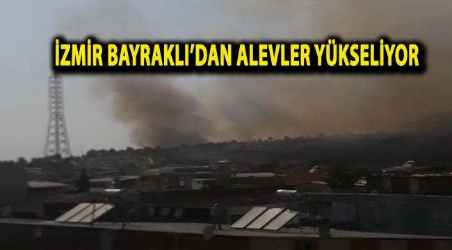 İzmir Bayraklı'dan Alevler Yükseliyor