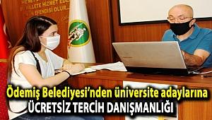 Ödemiş Belediyesi'nden üniversite adaylarına ücretsiz tercih danışmanlığı