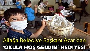 Aliağa Belediye Başkanı Serkan Acar'dan 'Okula Hoş Geldin' Hediyesi