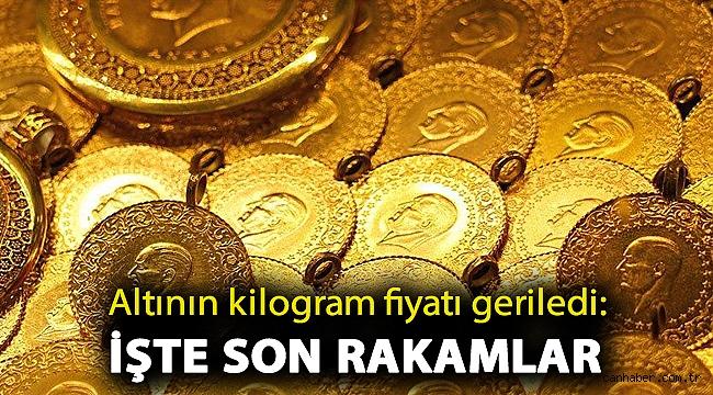 Altının kilogram fiyatı geriledi: İşte son rakamlar