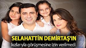 Başak Demirtaş açıkladı: Selahattin Demirtaş'ın kızlarıyla görüşmesine izin verilmedi
