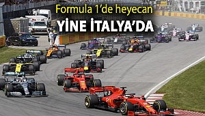 Formula 1'de heyecan yine İtalya'da
