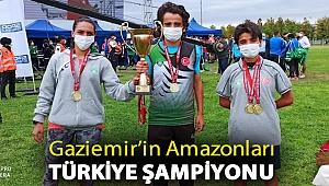 Gaziemir'in Amazonları Türkiye Şampiyonu