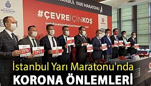 İstanbul Yarı Maratonu'nda korona önlemleri altında çevreci anlayışla koşulacak