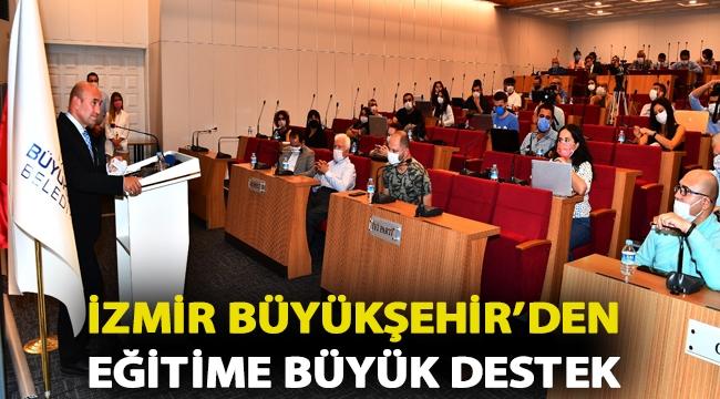 İzmir Büyükşehir'den eğitime büyük destek