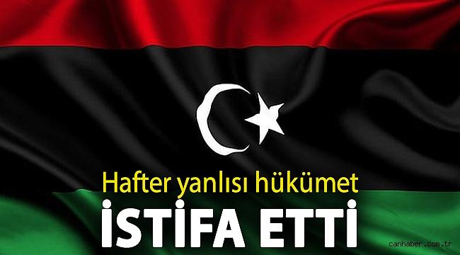 Libya'da önemli gelişme! Hafter yanlısı hükümet istifa etti