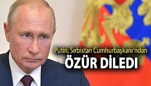 Putin, Sırbistan Cumhurbaşkanı'ndan 'Temel İçgüdü' paylaşımı için özür diledi