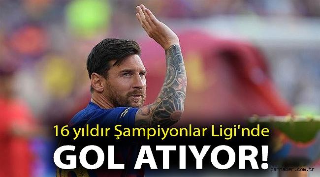 16 yıldır Şampiyonlar Ligi'nde gol atıyor!