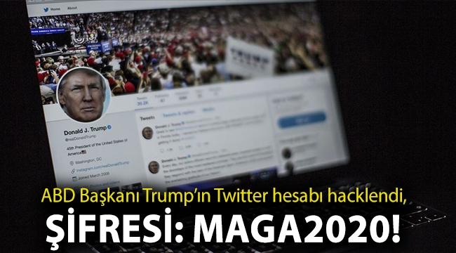 ABD Başkanı Trump'ın Twitter hesabı hacklendi, şifresi: Maga2020!