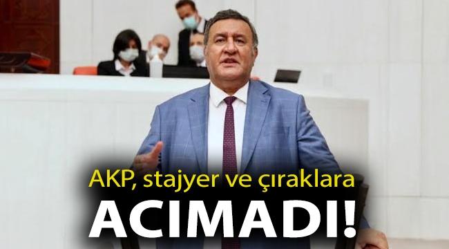 AKP, stajyer ve çıraklara da acımadı!